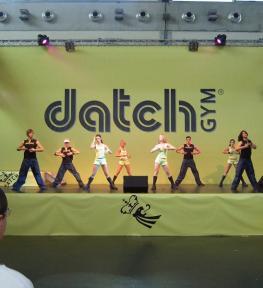 Montaggio stand fiera per Datch gym