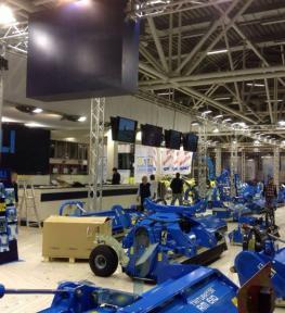 Progettazione stand per fiera della meccanizzazione agricola EIMA International 2016 Bologna