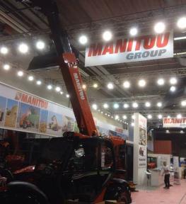 Ideazione ed allstimento stand per fiera internazionale di macchine agricole e giardinaggio 2016