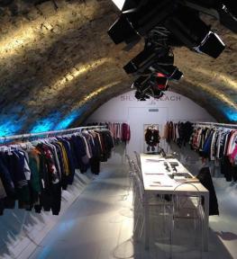 Allestimento stand con luci Fortezza Da Basso Firenze fiera