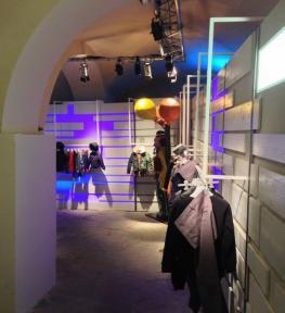 Progettazione stand con luci Fortezza Da Basso Firenze fiera