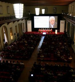 Allestimento conferenza Future of Science