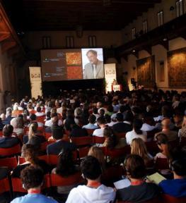 Allestimento luci e amplificazione audio per conferenza Future of Science
