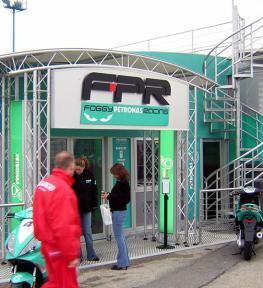 Costruzione strutture per manifestazione sportive FPR Foggy Petronas Racing