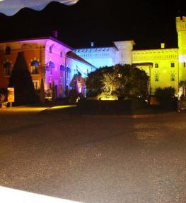 Installazione service luci Verona per evento Euroll