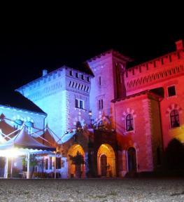 Effetti luminosi per evento e service luci con cambio colore per Euroll