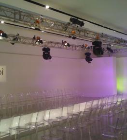 Service luci per evento Gaudì