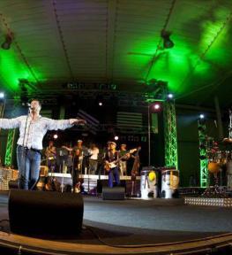 Service audio luci tour service per concerti Paolo Belli Big Band
