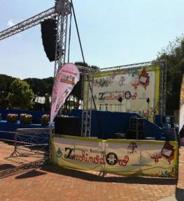 Tour service per selezioni nazionali Zecchino d'Oro