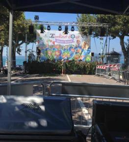 Service tour audio luci strutture per selezioni nazionali Zecchino d'Oro