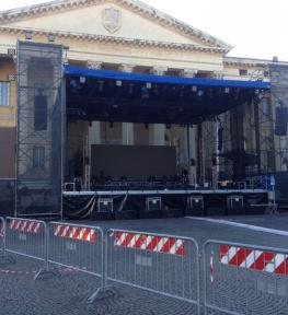 Installazione maxi schermi led a Verona