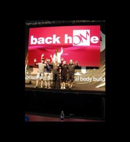 Montaggio maxi schermo led evento Back Home