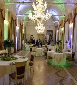 Service luci Verona per convention aziendale