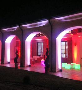 Service effetti luci per matrimoni a Tenuta San Martino, Legnago Verona