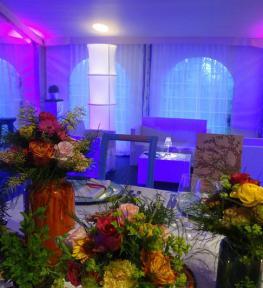 Idee luminose e luci per matrimonio con effetti speciali