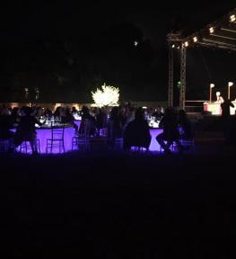 Evento Maravilia Festival 2017 effetti luce servizio completo