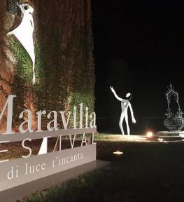 Effetti luci per evento Maravilia Festival 2017