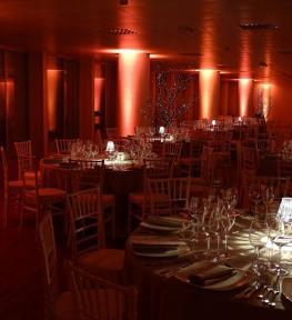 Service luci per evento aziendale