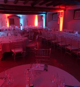 Service luci Verona per evento a Villa Sorio
