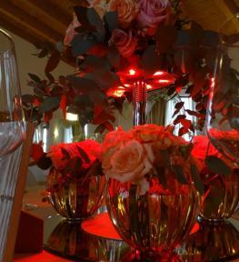 Service luci Verona per festa San Valentino