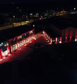 Service luci per festa San Valentino