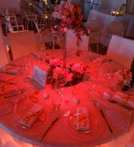 Servizio luci per festa di San Valentino a Verona
