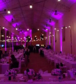 Servizio illuminazione per matrimonio Verona