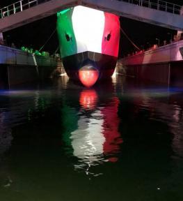 Servizio luci per evento ai Cantieri Navali di La Spezia