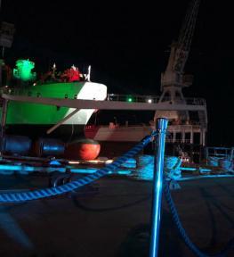 Illuminazione per evento ai Cantieri Navali di La Spezia