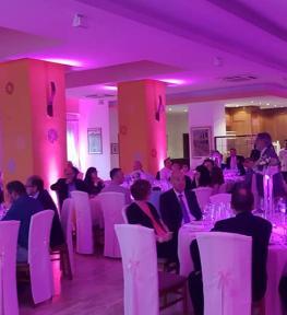 Service luci per evento Rosé in Tenuta San Martino