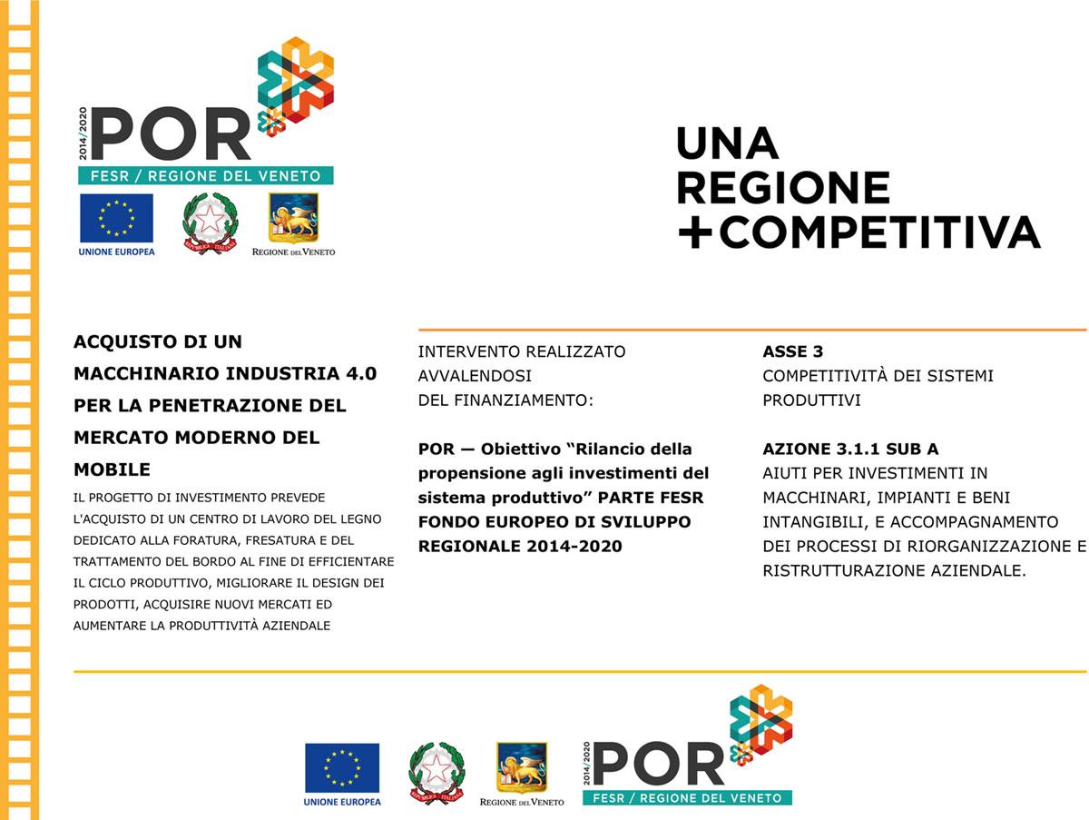 POR FESR 2014-2020 della Regione del Veneto